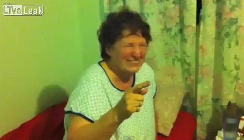 Şi-au DROGAT bunica, apoi au filmat-o!