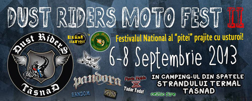 """Dust Riderrs Moto Fest"", la a II-a ediţie"