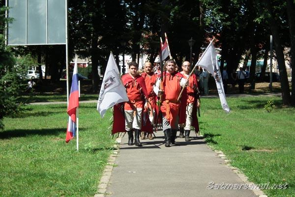 """S-a dat startul """"Festivalului Medieval"""" de la Carei (galerie foto)"""