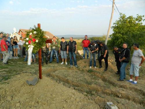 Monument în memoria motocicliştilor decedaţi în accidentele de circulaţie