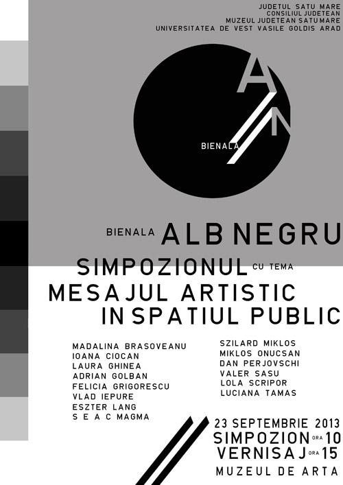 Bienala Alb-negru, la a III-a ediţie