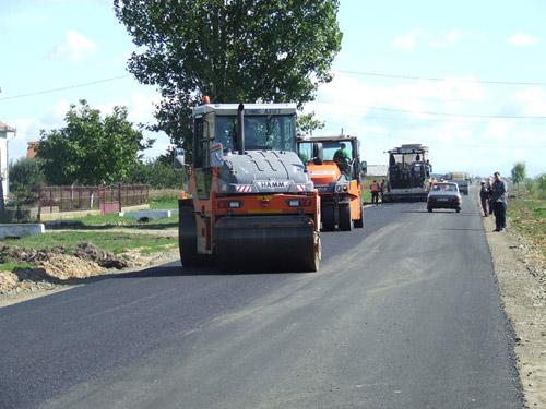 Drumul Moftin-Ghilvaci-Terebeşti a intrat în reabilitare totală