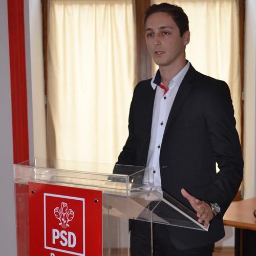 Ionuț Bujor este noul președinte al Organizației Municipale a TSD Satu Mare