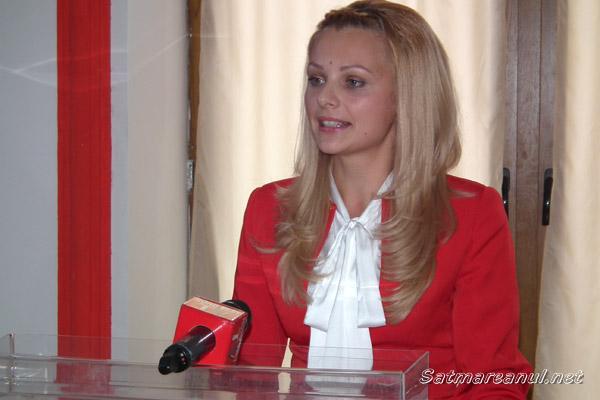Manuela Rogoz este noua preşedintă a Organizaţiei Municipale de Femei a PSD Satu Mare