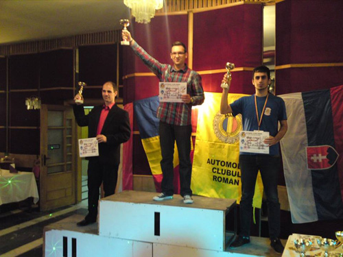 Tudor Teuşan, locul I la proba de îndemânare în cadrul CEC ORI CUP 2013