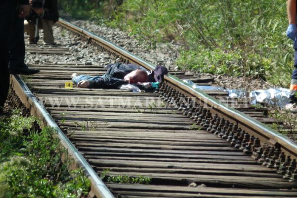UPDATE: Bărbat tăiat de trenul Satu Mare-Jibou (atentie imagini socante!)