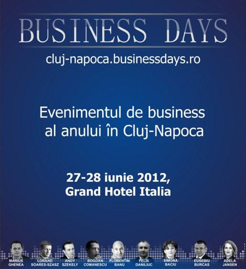 Cluj Business Days – un ROI de peste 25 de ori mai mare faţă de investiţia în biletul de acces