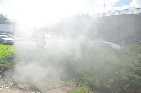 Incendiu în centrul Sătmarului (galerie foto)