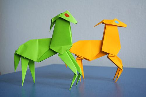 Atelierul de vară origami, îşi închide porţile