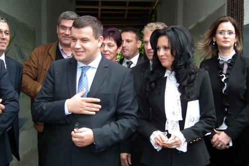 Partidul Mişcarea Populară şi-a inaugurat sediul din Satu Mare