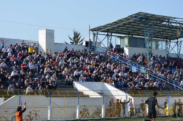 Peste 45 de jandarmi la meciul dintre Olimpia Satu Mare şi Universitatea Craiova
