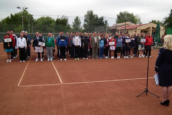 Finala Campionatului de Tenis al MAI are loc la Satu Mare