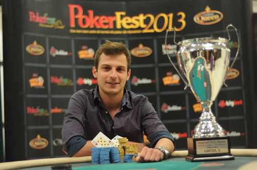 Sătmăreanul Vlad Darie campion la PokerFest