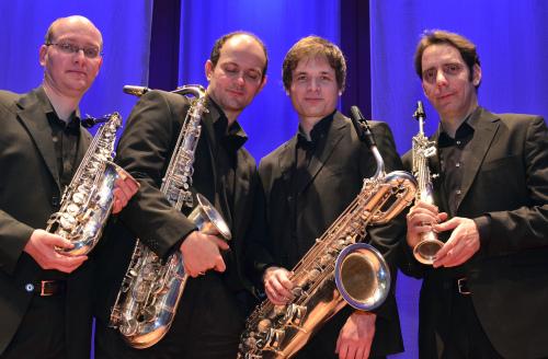 """""""Budapest Saxophone Quartet"""" revine la Satu Mare"""