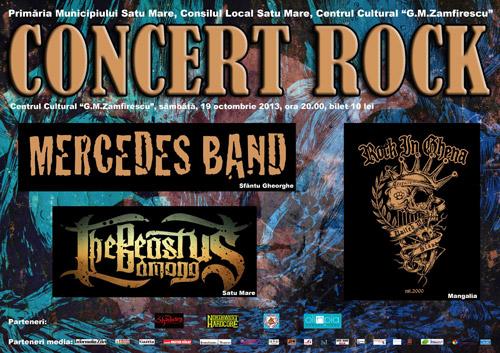 """Concert rock la Centrul Cultural """"G. M. Zamfirescu"""""""