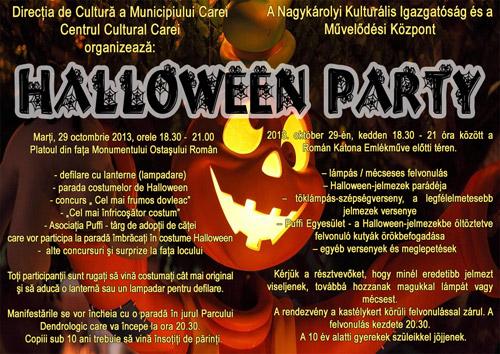 Halloween Party în Carei