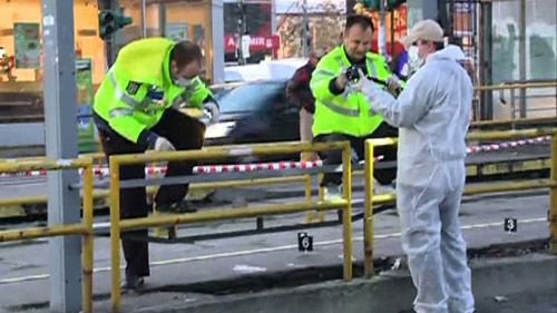 Un sătmărean a fost înjunghiat într-o staţie de tramvai din capitală