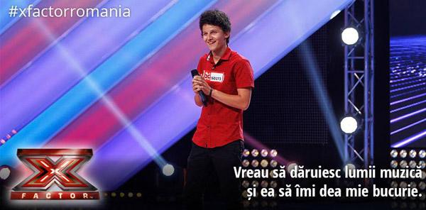 Bogdan Bratiş s-a calificat în Galele Live la X Factor