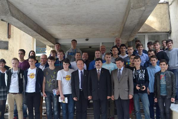 Baschetbaliştii din Germania şi Polonia,în vizită la Satu Mare