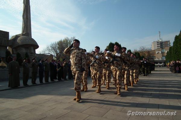 Ziua Armatei Române sărbătorite la Carei şi Satu Mare (galerie foto)