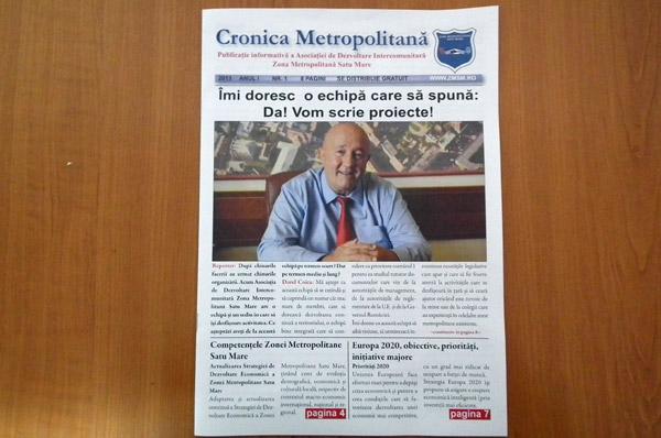 """Revista """"Cronica Metropolitană"""", la început de drum"""