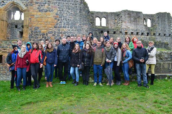 Un grup de elevi de la Liceul German au vizitat o şcoală din Germania