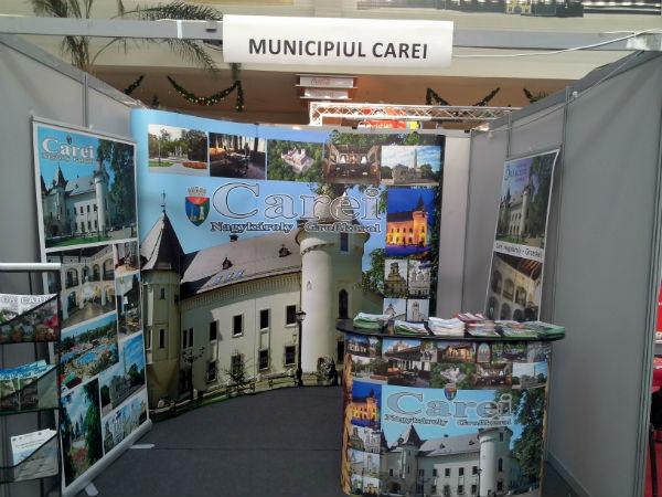 Municipiul Carei promovat la Târgul de turism din Cluj-Napoca
