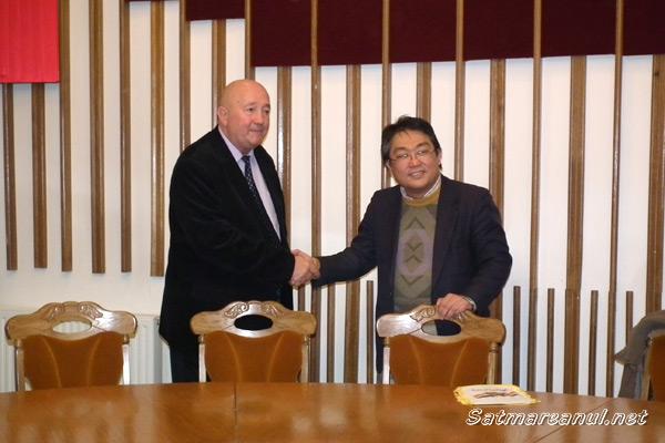 Katsutaro Kawai s-a întâlnit cu primarul Dorel Coica