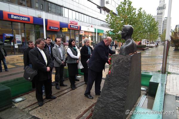Corneliu Coposu, comemorat de liberalii sătmăreni