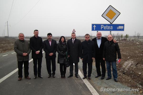 A fost inaugurat drumul de ocolire a municipiului Satu Mare