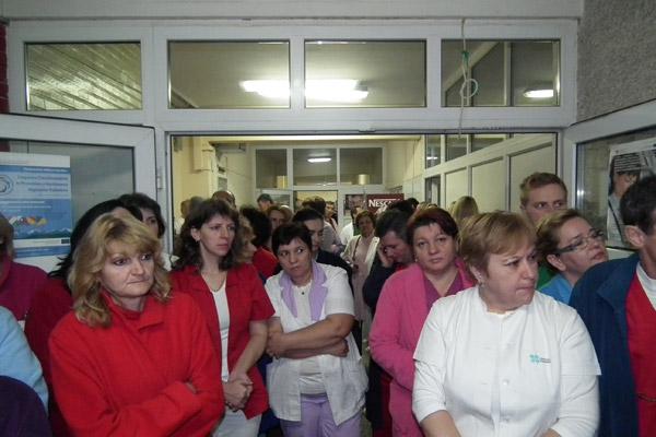 Grevă de avertisment la Spitalul Judeţean Satu Mare