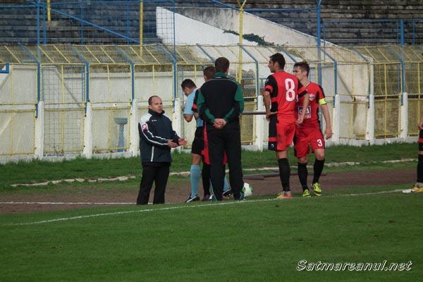 Olimpia – Reşiţa 1-0 după un meci cu 2 cartonașe roșii (galerie foto)