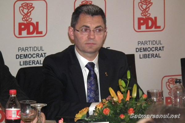 Petre Mureşan a fost confirmat în funcţia de preşedinte al PDL Satu Mare