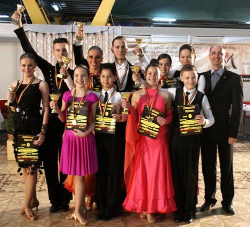 """10 medalii pentru dansatorii de la """"Royal Dance Club"""" la """"Napoca Dance Festival"""""""