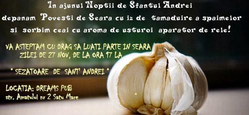 """""""Şezătoare de Sânt'Andrei"""", organizată de Mişcarea Populară Satu Mare"""