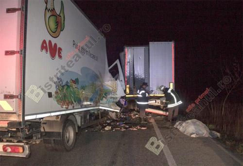 Un şofer de TIR de la Ave Impex a murit într-un accident lângă Bistriţa