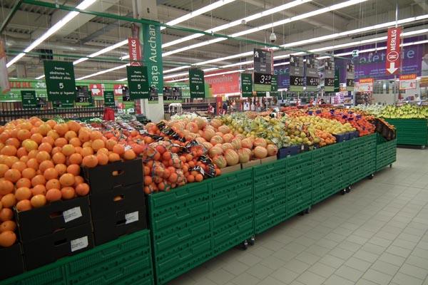 Hipermarket-ul Auchan Satu Mare îşi deschide mâine porţile (galerie foto)
