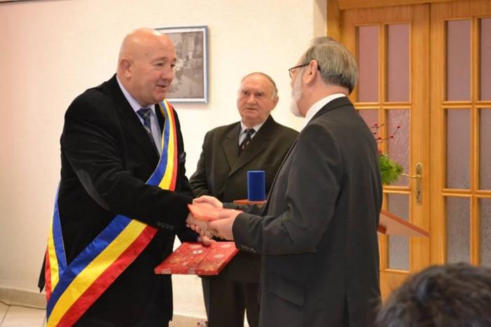 Helmut Berner este cetăţean de onoare al municipiului Satu Mare