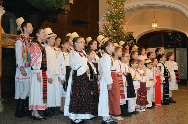 Concert de colinde la Castelul Karolyi