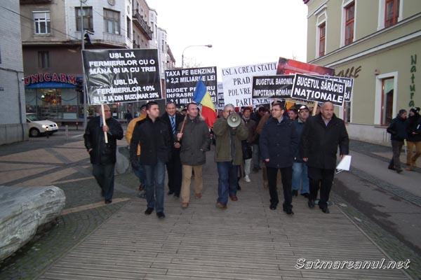 """PDL-iştii au protestat împotriva """"bugetului sărăciei naţionale"""""""