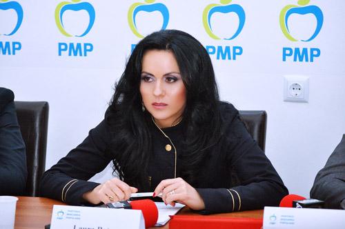 Laura Bota, în primii zece pe lista candidaţilor PMP la europarlamentare