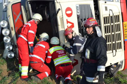 Accident mortal la ieşirea din Apa