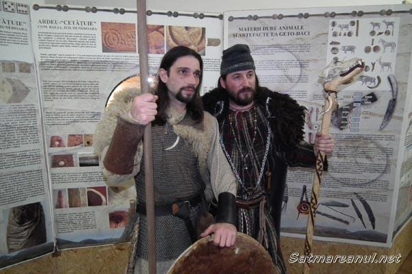 Expoziţie despre arta şi meşteşugurile din epoca Regatului Dac la Muzeul Judeţean