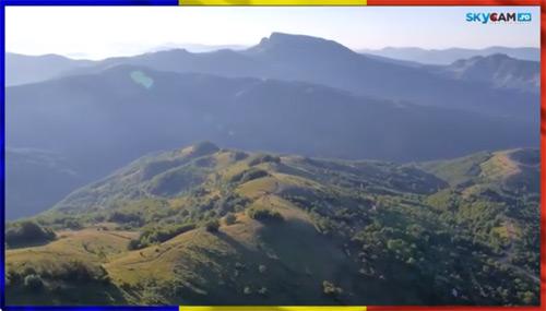 Zbor deasupra României pe acordurile muzicii lui Ciprian Porumbescu (video)
