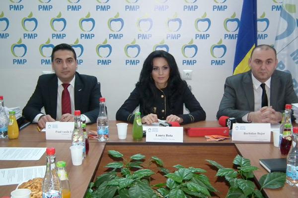 """Dr. Laura Bota: """"Peste 1.500 de membrii PDL au trecut la Partidul Mişcarea Populară !""""."""