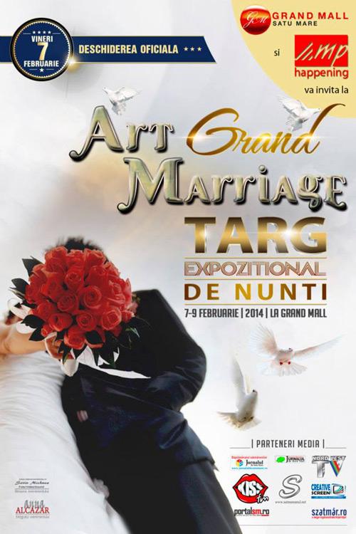 """Târgul de nunţi """"Art Grand Marriage"""", la a VI-a ediţie"""