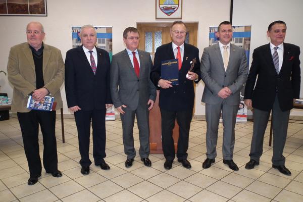 Fostul scrimer Iosif Szepessy, premiat de Consiliul Judeţean Satu Mare