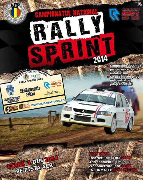 """Începe Campionatul Naţional de """"Rally Sprint"""" 2014"""