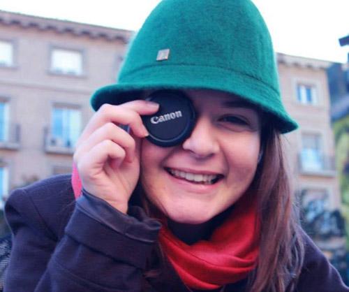 Adriana Nistor – sătmăreanca ce studiază jurnalismul la Zaragoza