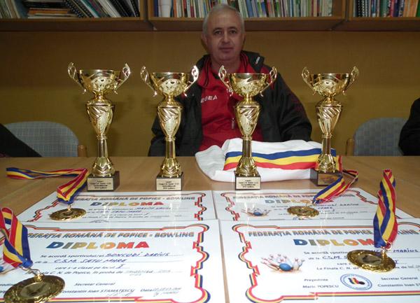 Sportivii de la CSM Satu Mare au făcut legea la Campionatul Naţional de tineret la popice